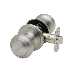 Colonial Knob In Satin Stainless