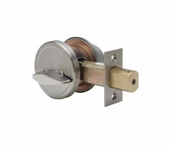 Commercial Grade 2 Security Single Cylinder Deadbolt In Oil Rubbed Bronze