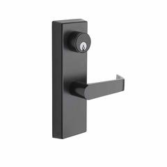 Commercial Non-Handed Exterior Escutcheon Keyed Entry Lever In Oil Rubbed Bronze