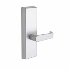 Commercial Non-Handed Exterior Escutcheon Passage Lever In Satin Stainless