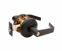 Commercial Non-Handed Grade 1 Security Classroom Lever In Oil Rubbed Bronze