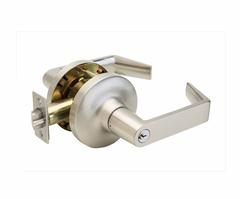 Commercial Non-Handed Grade 1 Security Storeroom Lever In Satin Stainless