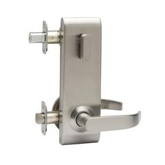 Commercial Non-Handed One Point Locking Interconnected Lock In Satin Stainless