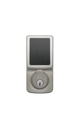 Fashion Series Z-Wave Electronic Deadbolt In Satin Stainless