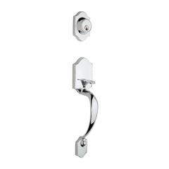 Heritage Handleset In Polished Stainless