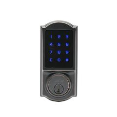 Heritage Series Z-Wave Electronic Deadbolt In Tuscan Bronze